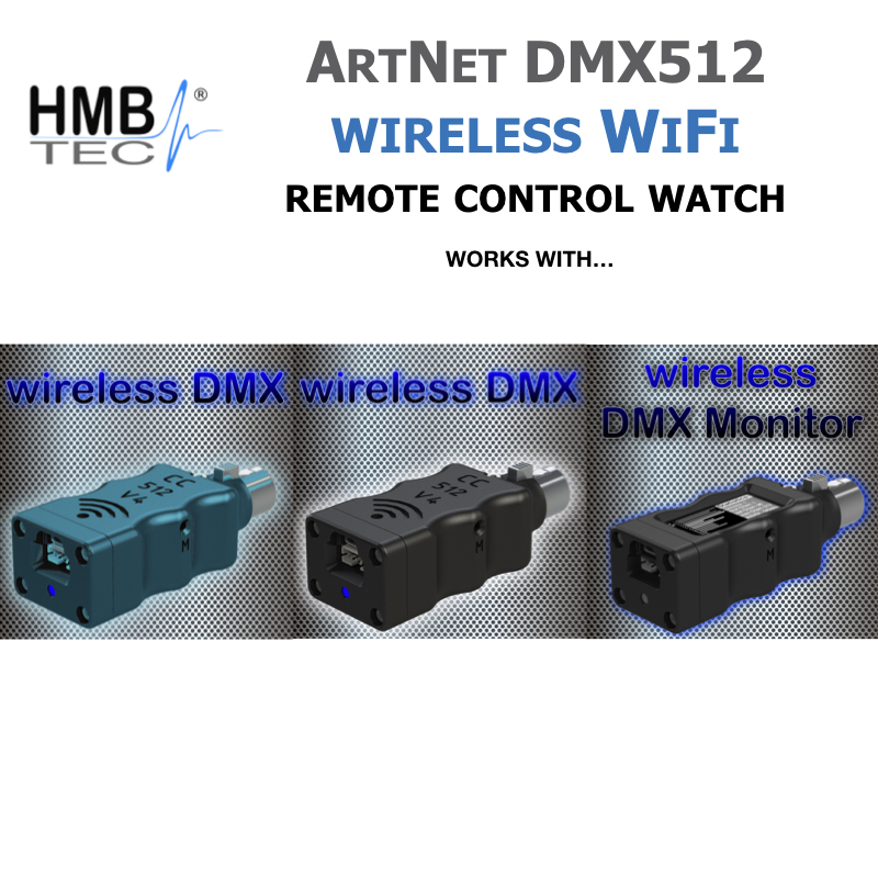 wireless DMX Controller