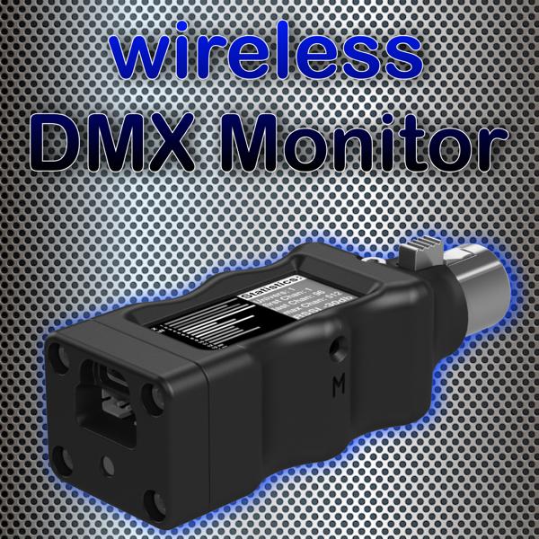 WiFi DMX Controller CC512-V4 MONITOR