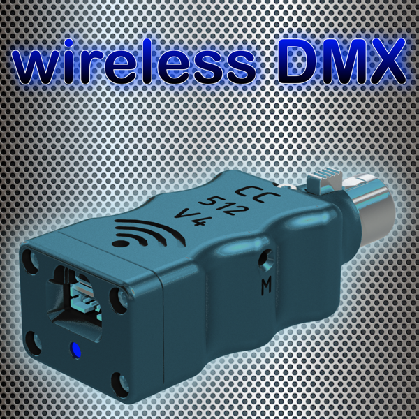 WiFi DMX CC512-V4 iSKY Dongle