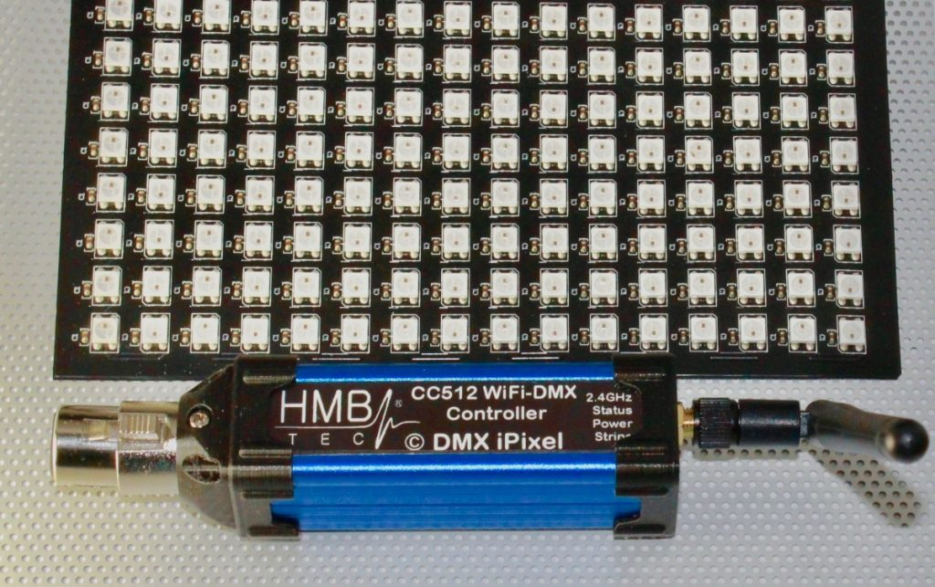 WiFi DMX + iPixel ArtNet Interface / Controller