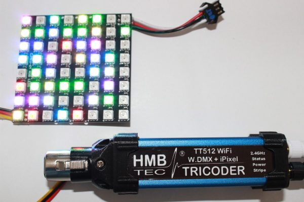 WiFi DMX Controller / Interface TT512 TRICODER